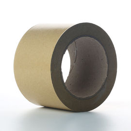 Cina Self Adhesive White Kraft Paper Tape Untuk Splicing Bottom Release Liner pemasok