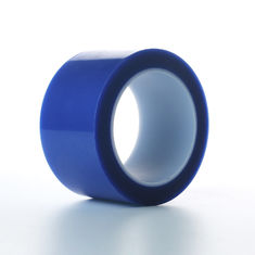 Blue Acrylic Pet Paper Splicing Tape Liner Bottom Side 50Um Thickness
