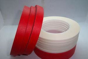 Red Pet Composite Crepe Paper Masking Tape For High Temperature Resistant