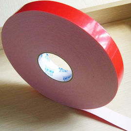 Two sided adhesive tape coated strong acrylic glue with PE foam backing material