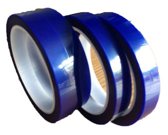 Cina Customized Coated Acrylic Film Penyambungan Tape 65Um Ketebalan Warna Biru pabrik